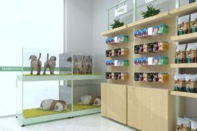 圣宠宠物江苏省宜兴市英伦尊邸店装修设计图