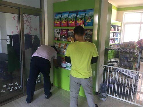 经理到店指导北京绿城雅居店