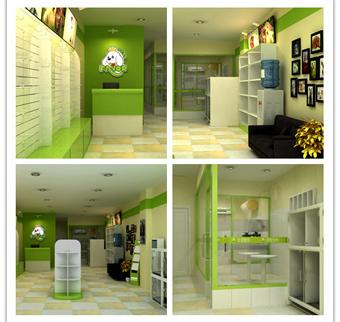 圣宠宠物店(廊坊广阳区店)装修设计图