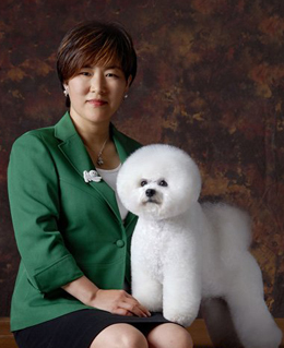 """李东林 亚洲""""比熊犬之母"""""""